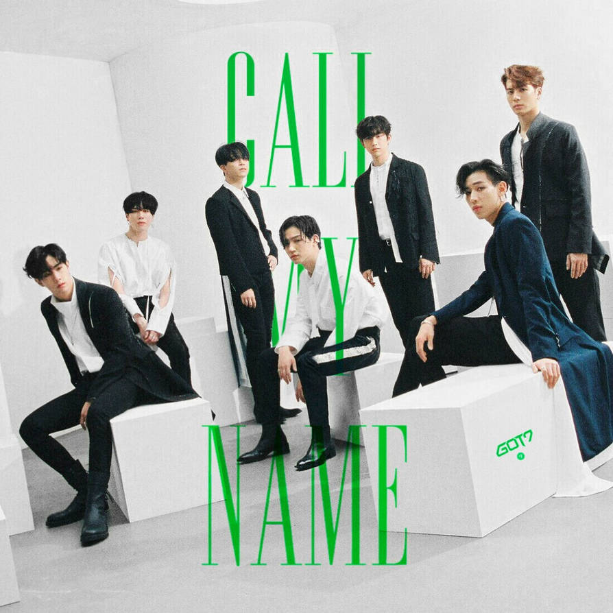 Image result for got7 call my name album cover