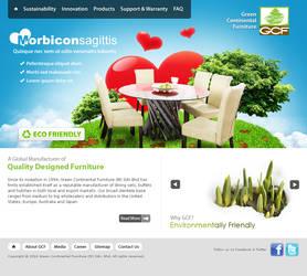 GCF website mockup ver. 2 by projectDC