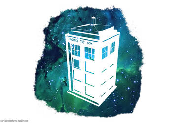 TARDIS Wallpaper by MrGrandhighmonkey