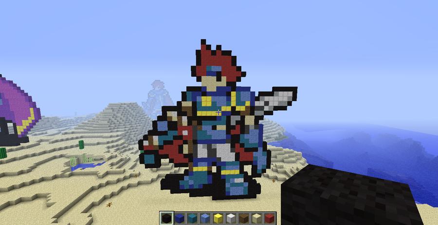 Roy Minecraft by slygirl1999
