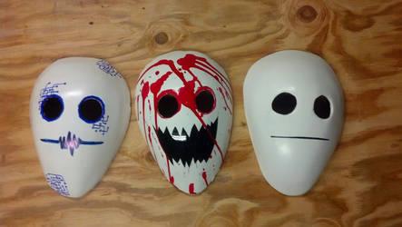 Cry Masks by slygirl1999