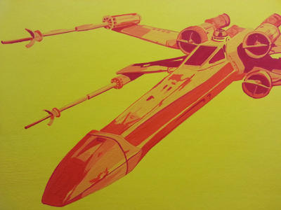 X-Wing by BillieJeanDavy