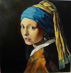 Ragazza col turbante by Giuko