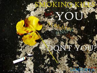 Smoking Kills by cyberoidx