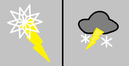 Thunder Snow C. Mark Version 1 and Version 2 by MrMenelausRedz