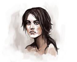Lara Croft - Free Design - With Speed paint video by minoanoa
