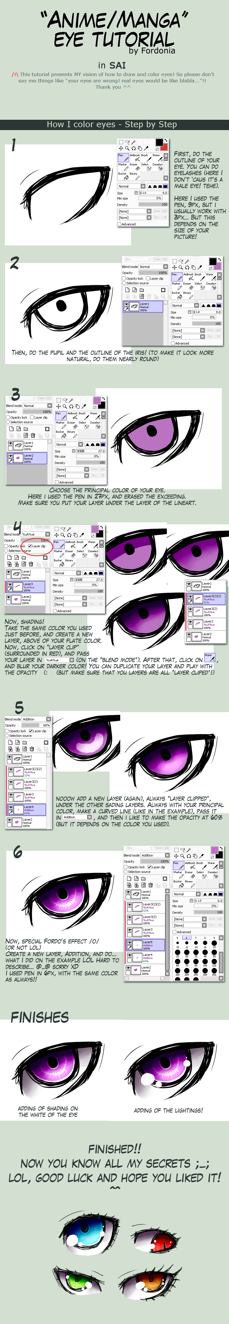 Eye tutorial - SAI by fordonia