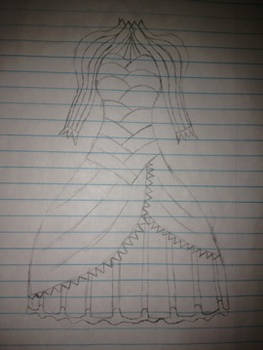 Dress Sketch 3