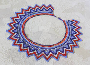 Path of the rising Sun netted collar