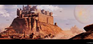 Sci Fi World For Starbase Castle Theme