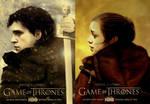 Game of Thrones - Jon + Arya