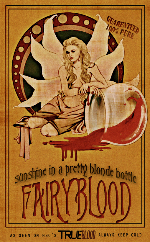 True Blood - Fairy Blood - Sookie Poster by riogirl9909
