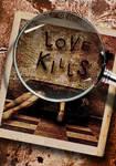 LOVE KILLS - custom book cover example