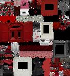 True Blood / Vampire: Word Art + Clear Cut PNG 26