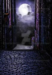 Urban fantasy background #1