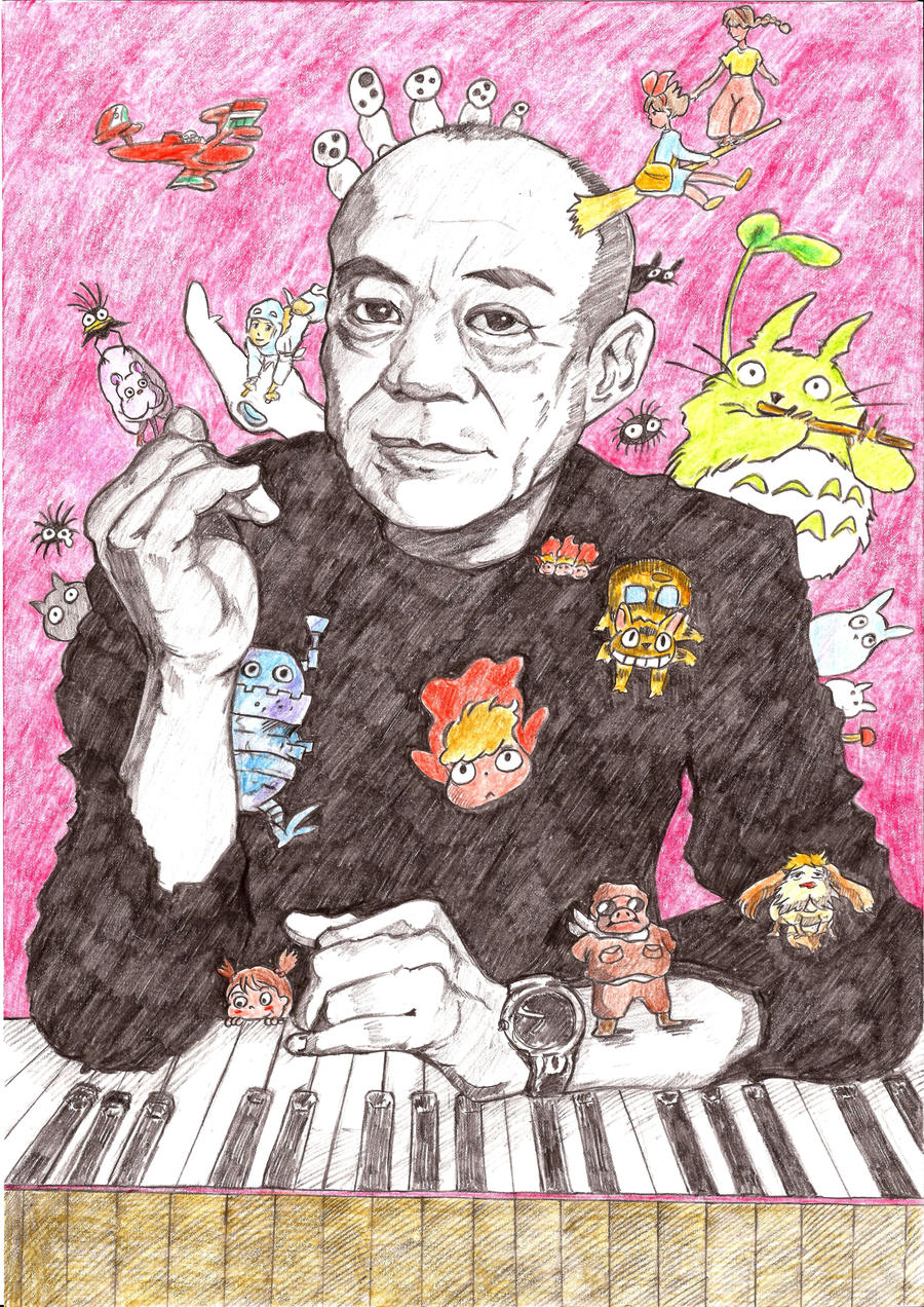 Joe Hisaishi by handiwukong on DeviantArt
