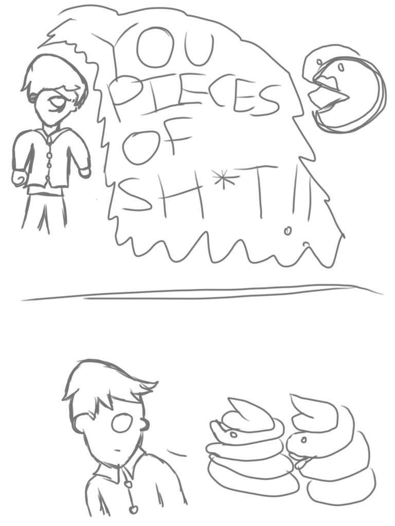 comic strip artwork