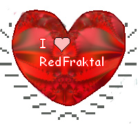 I heart red fraktal by Sulfura