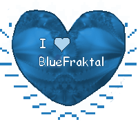 I heart Bluefraktal stamp by Sulfura