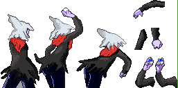 Back Trainer Sprite Darkrai by Sulfura