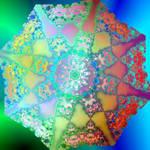Colourful Flake by Sulfura