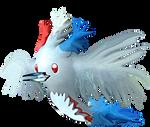 Togekiss Birdmode by Sulfura