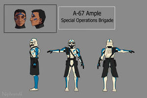 Alpha-67 Ample character sheet