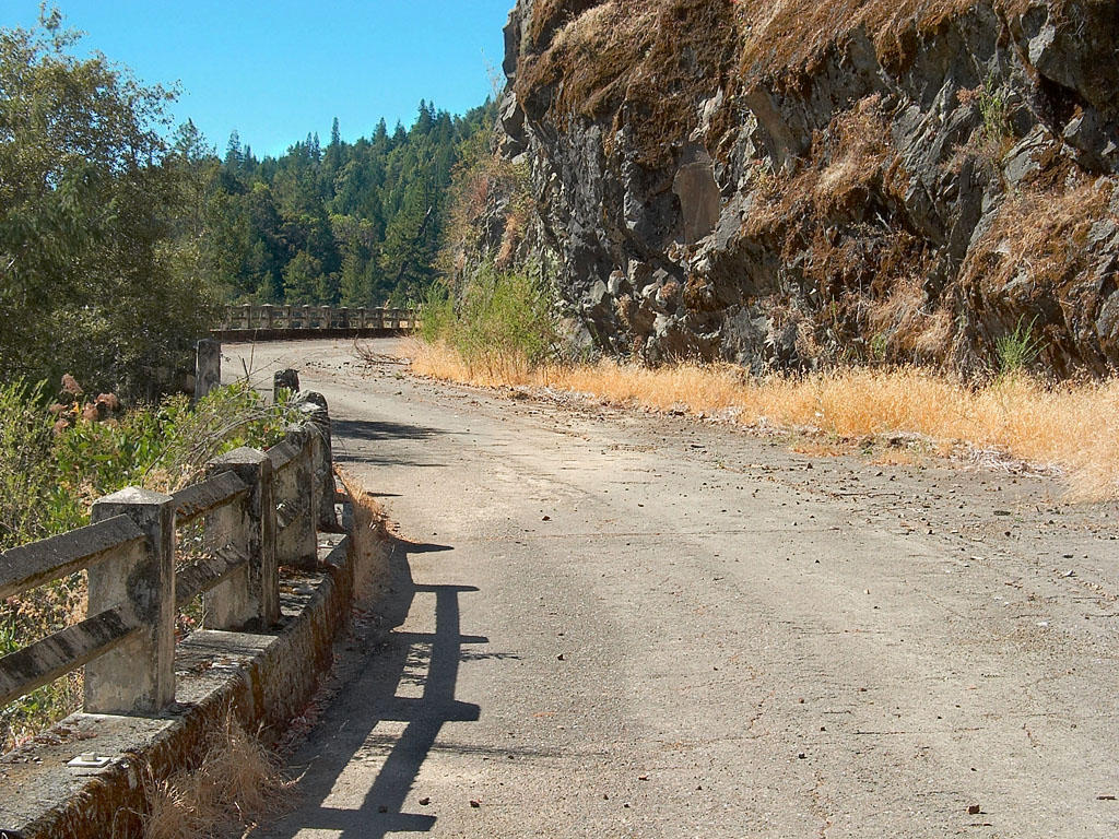 Abandoned Section, Hwy. 101, 1 by Azraphale