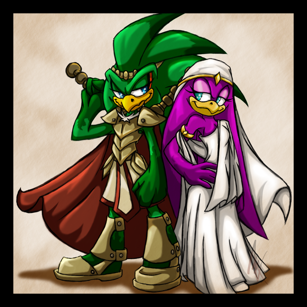 Req  Babylonians  Jet and Wave - Finished by MiakodaTheBrightJet And Wave