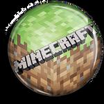 Button Pin - Minecraft