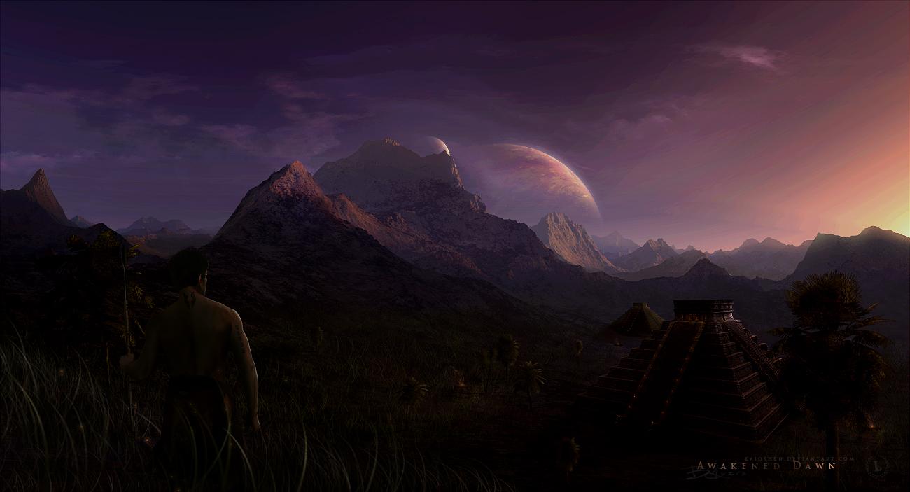 Awakened Dawn by Kaioshen