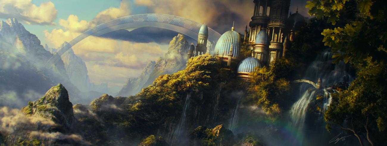 Sorcerer's Hill by Kaioshen