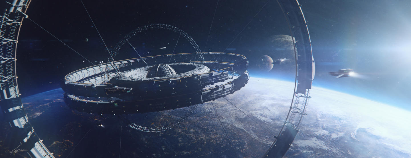 prison sci fi space station - photo #33