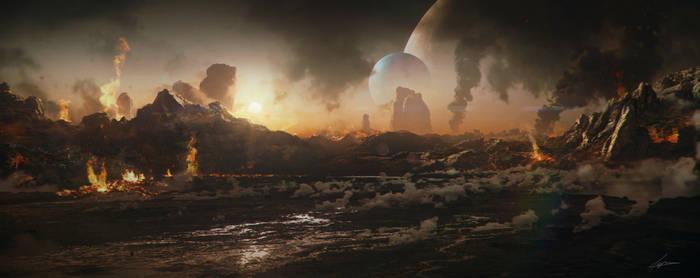 Hostile Planet by Kaioshen