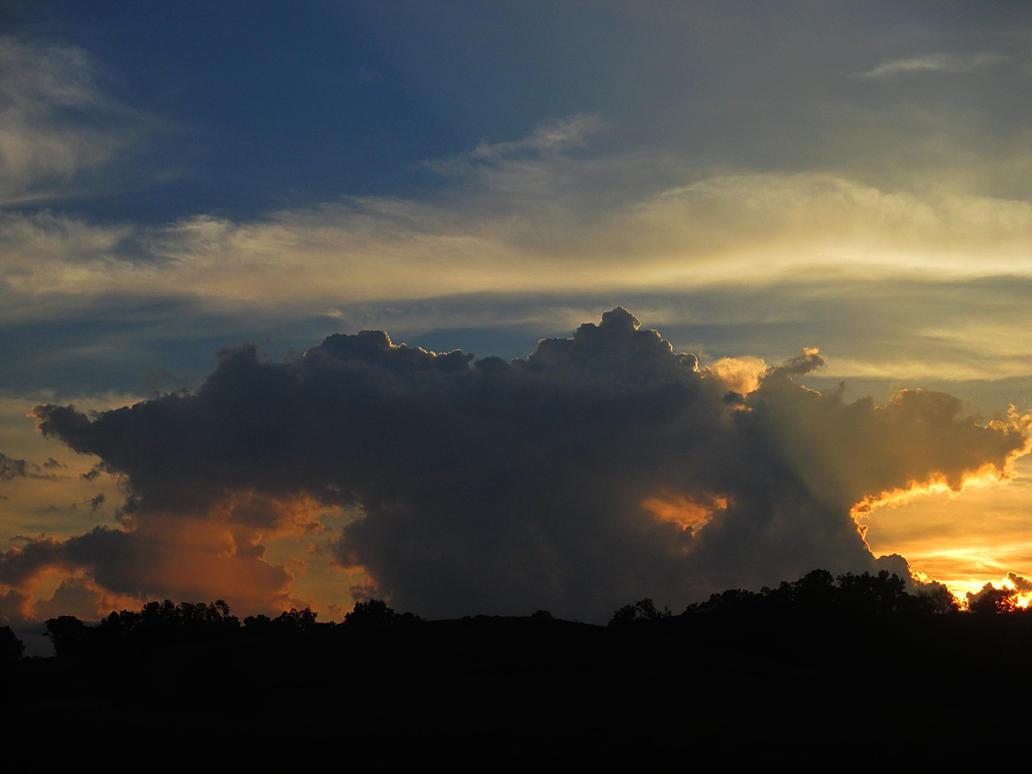 sunset by sunbeamfireking
