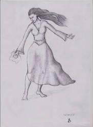 Korrina the Priestess of the True Source by Aragorn-cro