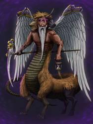 Chronos - God of Time by LOLzitsaduck