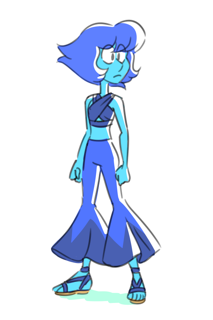 Lapis has always struck me as the hippy type.