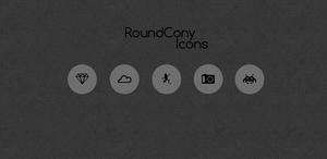 RoundCony Icons