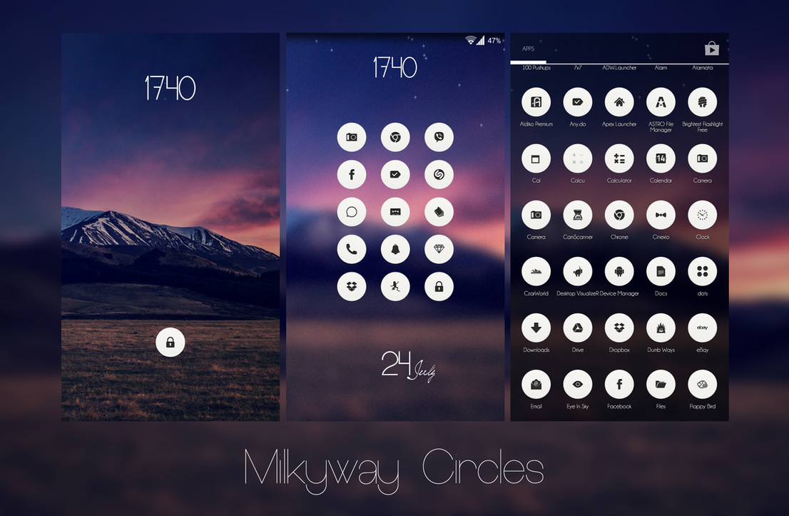 Milkyway Circles by SF2Gcrew
