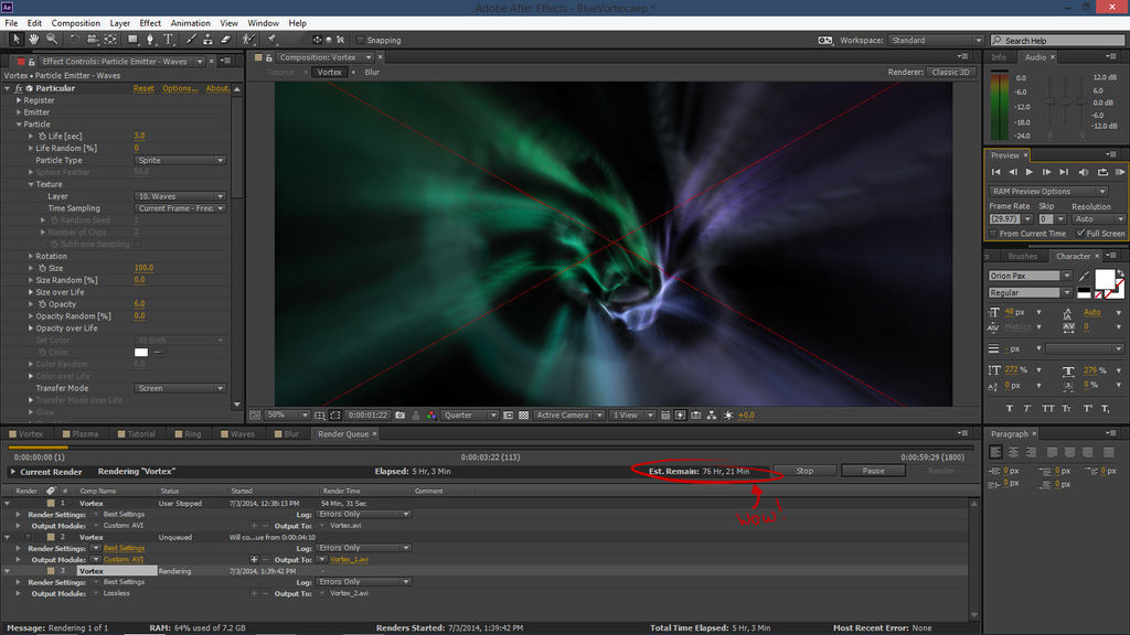 After Effects] Time Vortex Animation by WH0VlAN on DeviantArt