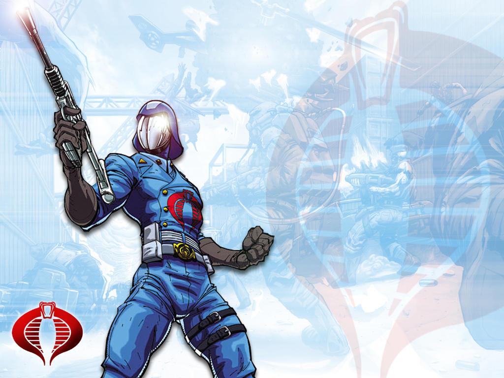 Cobra Commander Wallpaper by RedStarMedia