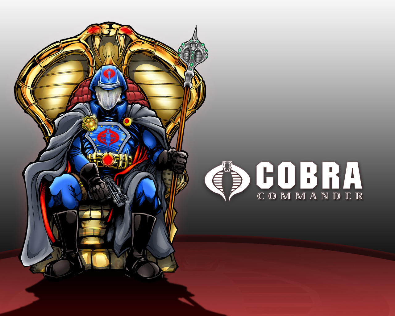 Cobra Commander Wallpaper 2 by RedStarMediaCobra Commander Wallpaper