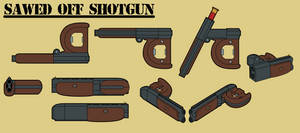 Fallout Equestria: Short-Barreled Shotgun