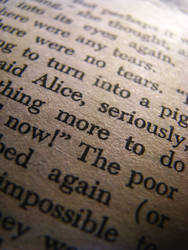 Seriously, Alice