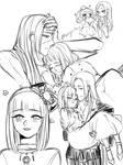 [OC] [Sketch] - Eliza and Aiolos