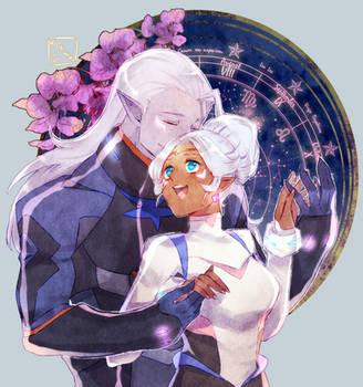 [F] - Amongst the stars by Virgichuu