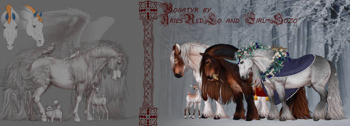 |BOGATYR| New custom base for horse refs |Sale|
