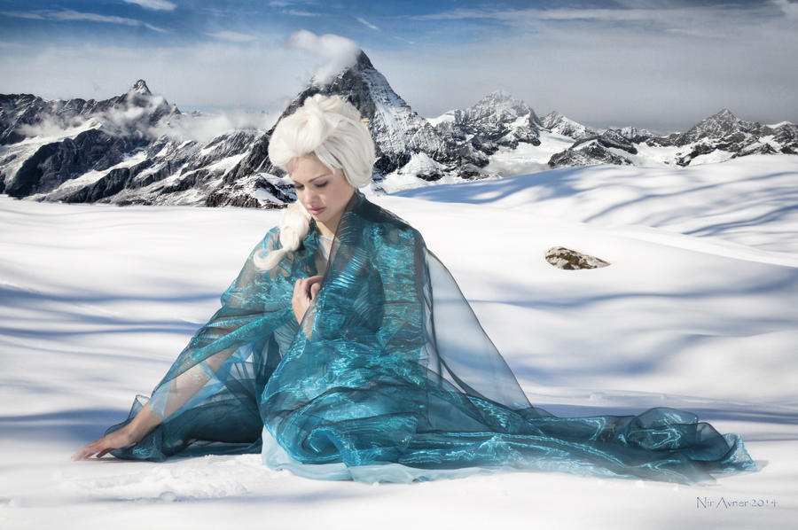 Elsa Frozen Cosplay- what I've done.. by WhiteRaven00