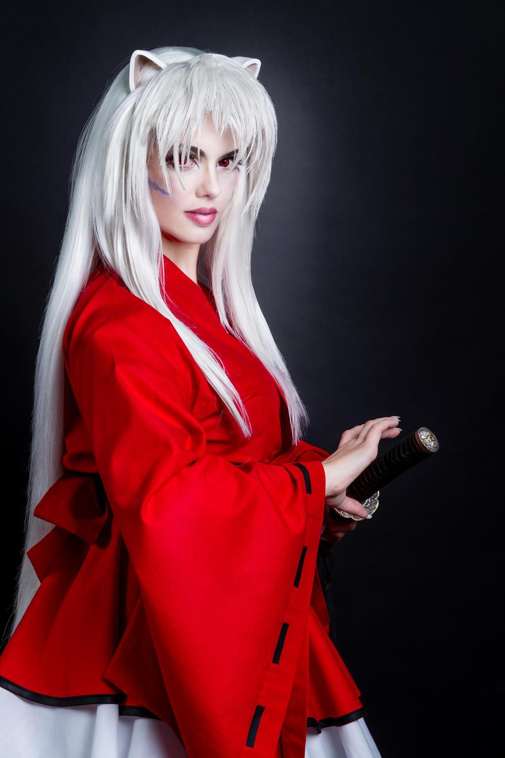 Female Youkai Inuyasha Cosplay by WhiteRavenCosplay on ...
